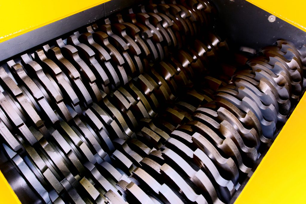 Шредеры для измельчения отходов