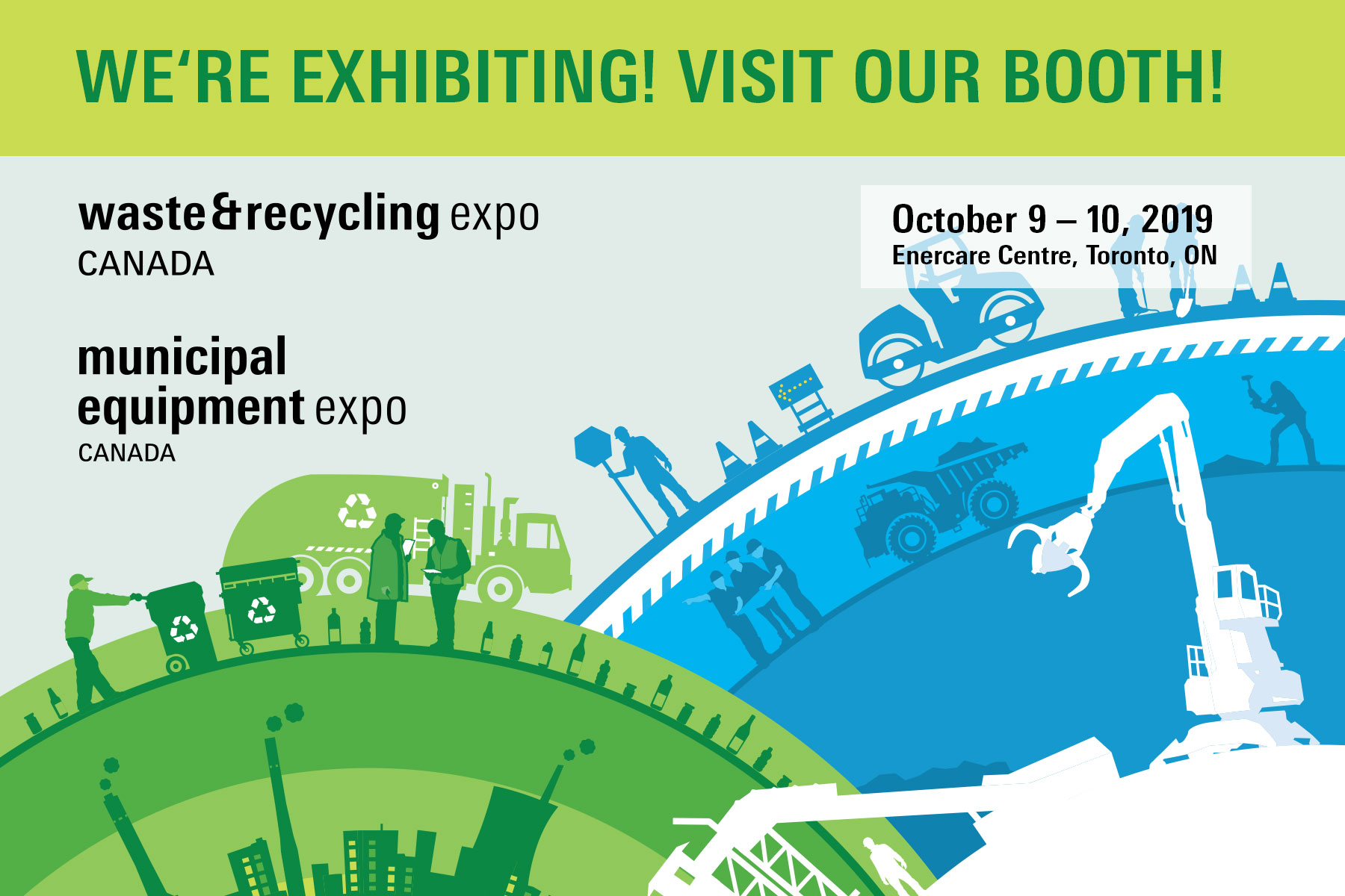 UNTHA America at Waste and Recycling Expo Canada