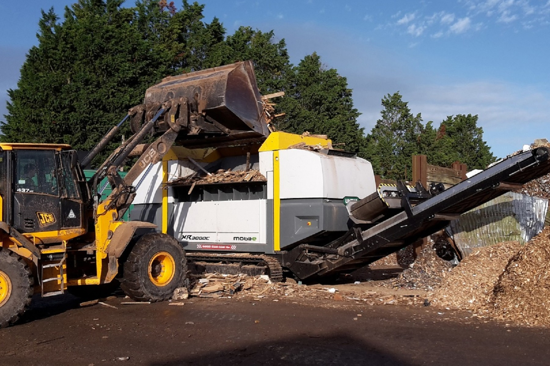 UNTHA UK joins Wood Recyclers' Association