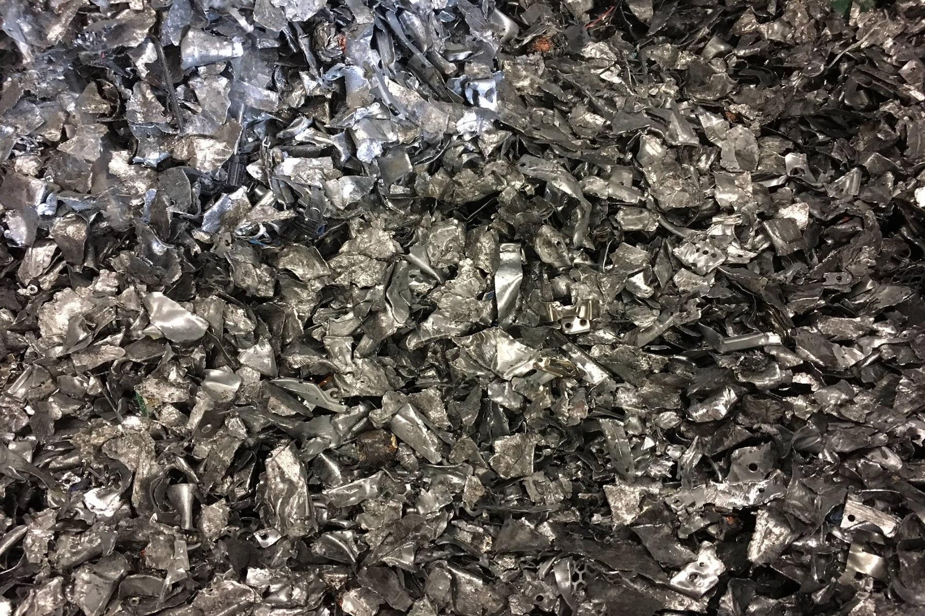 Shredded steel